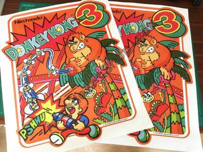 Nintendo Donkey Kong 3 Side Art