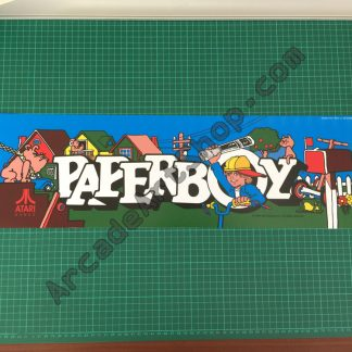 Paperboy Atari marquee