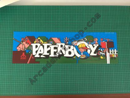 Paperboy Atari marquee