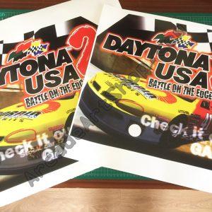 Daytona USA 2 side art