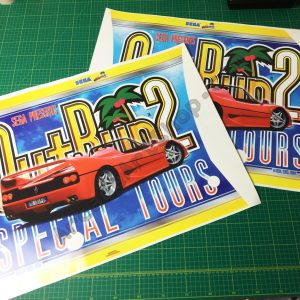 OutRun 2 SP side art pair