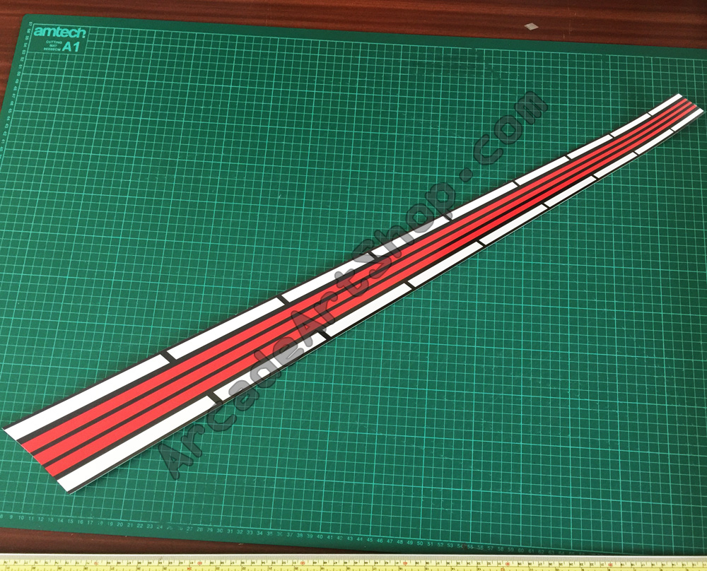 OutRun road stripe USA