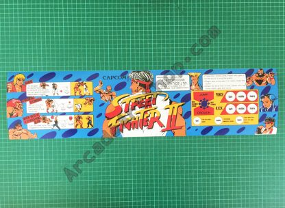 Electrocoin Street Fighter 2 marquee