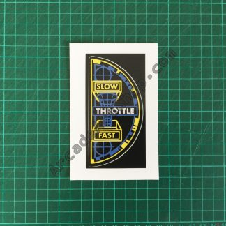 Afterburner throttle decal