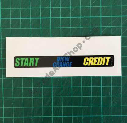 Initial-D VR panel sticker TOT-2152UK