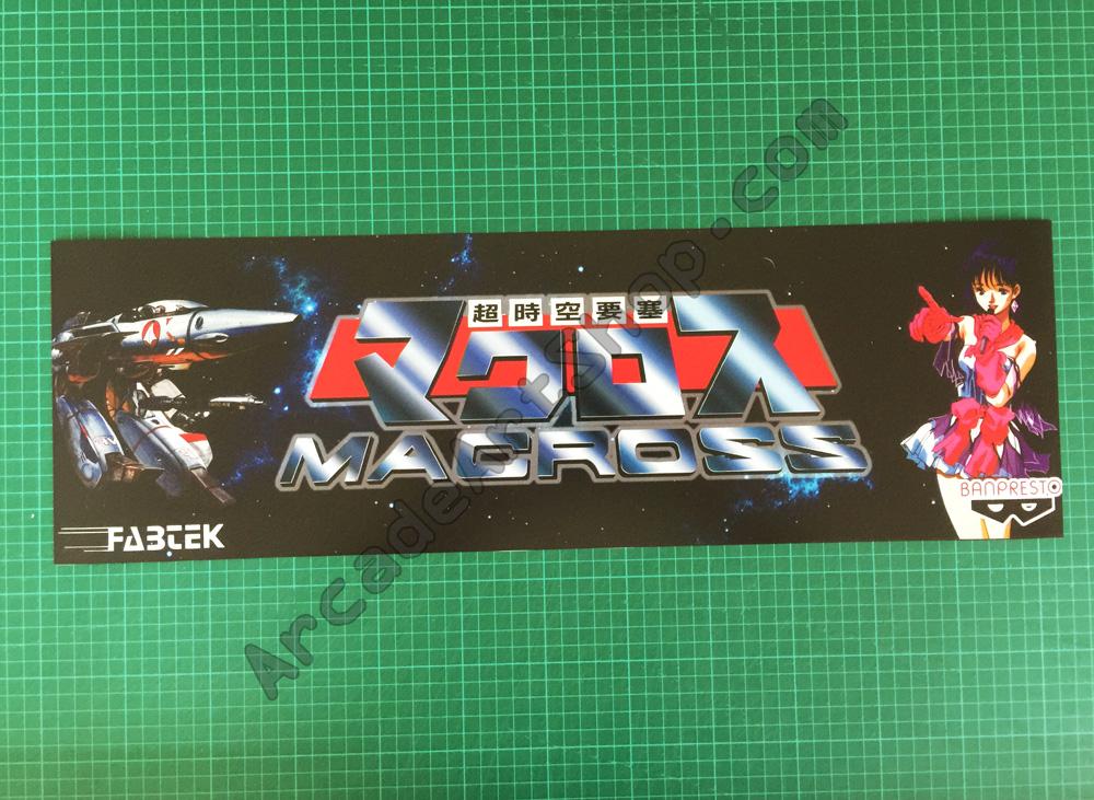 Macross Marquee Arcade Art Shop