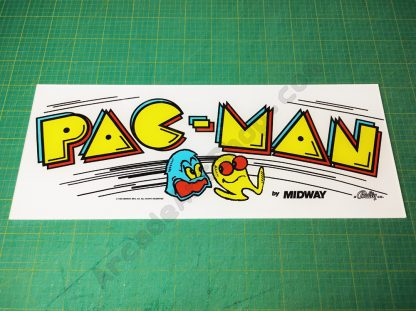 pacman upright plexi perspex marquee midway