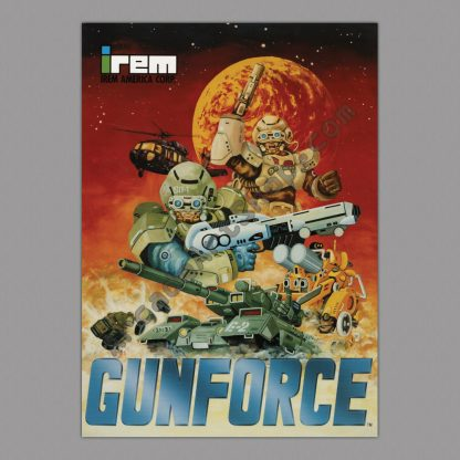 Gunforce poster
