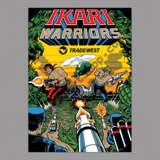 Ikari Warriors poster