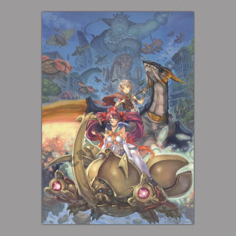 Neo Queens Arcade: Poster-Mushihimesama-Futari-500x700mm
