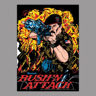 Rush'n Attack poster