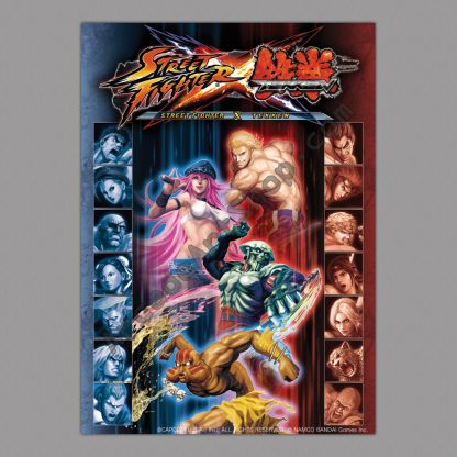 Street Fighter X Tekken v2 poster