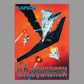 UN Squadron poster