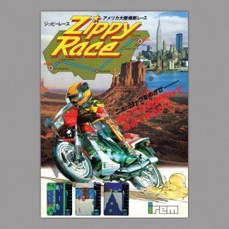 zippy race poster