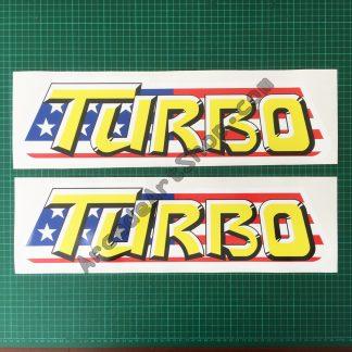 Turbo OutRun side art