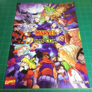 Marvel Vs Capcom poster