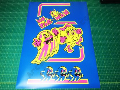 Ms. Pac-Man poster