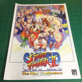 Super Street Fighter 2 poster