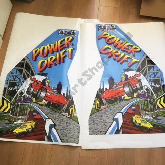 Power Drift side art pair