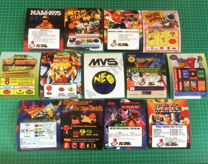 Neo Geo MVS Mini marquees
