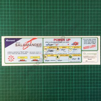 Salamander instruction decal