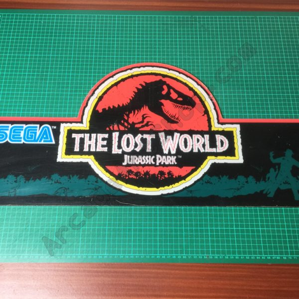 The Lost World Jurassic Park nos marquee