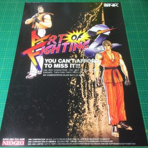 Art of Fighting 2 poster