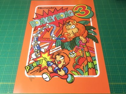 Donkey Kong 3 poster