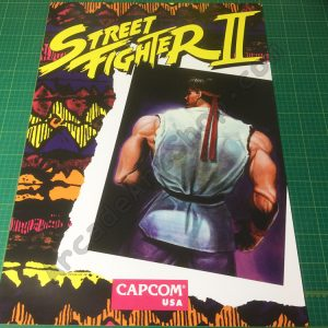 Street Fighter 2 poster