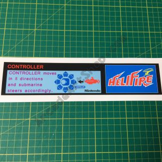 helifire instruction decal
