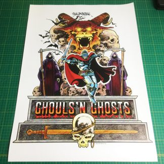 Ghouls n Ghosts poster