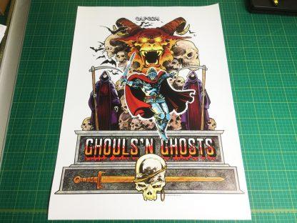 Ghouls n Ghosts poster