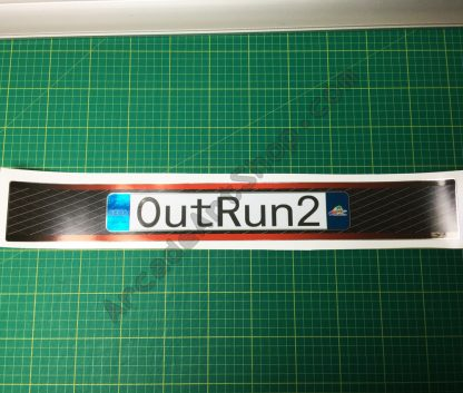 Silver Foil OutRun 2 base lid decal