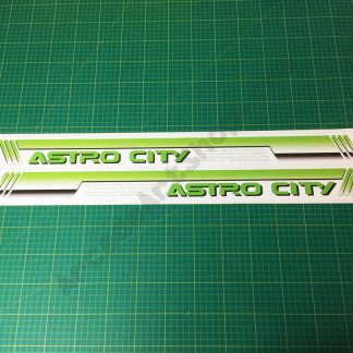 Sega Astro City side art pair