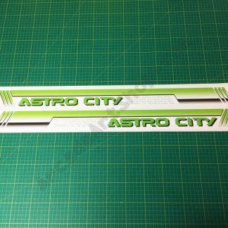 Sega Astro City side art pair