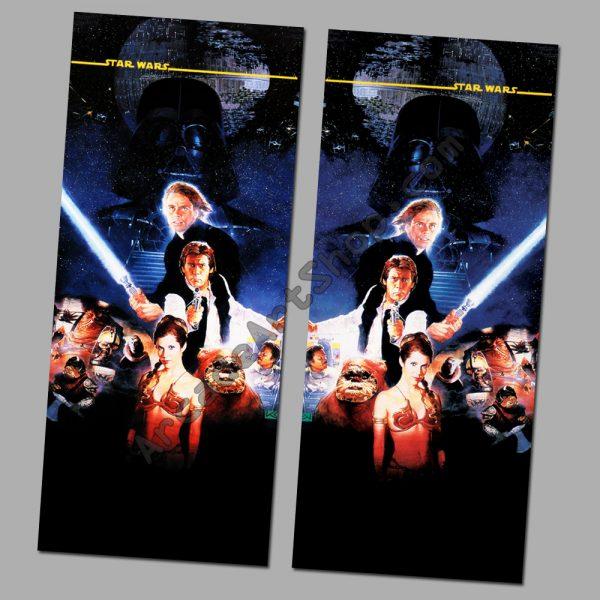 Star Wars Trilogy side art