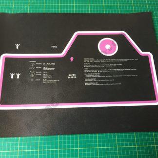 Tempest cabaret control panel overlay
