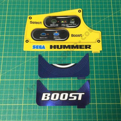 Sega HUMMER 3 piece dash decal set