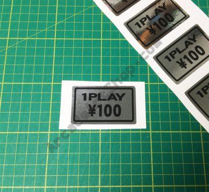 Silver 100 Yen 1 Play