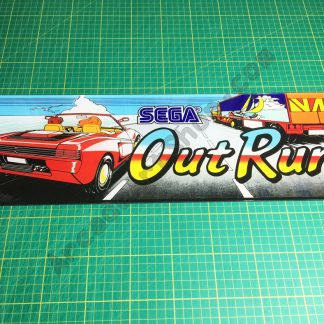 OutRun mini plexi marquee