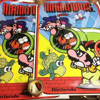 Mario bros side art pair