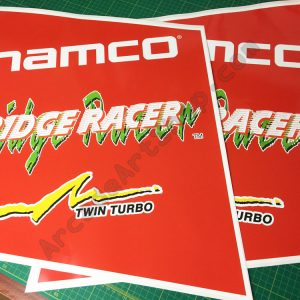 Ridge Racer side art pair