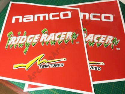 Ridge Racer side art pair