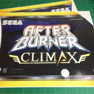 Afterburner Climax side art pair