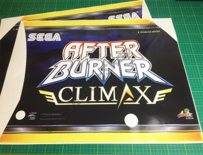 Afterburner Climax side art pair