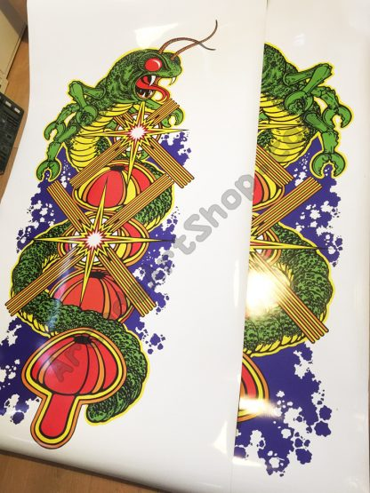 Centipede side art pair USA