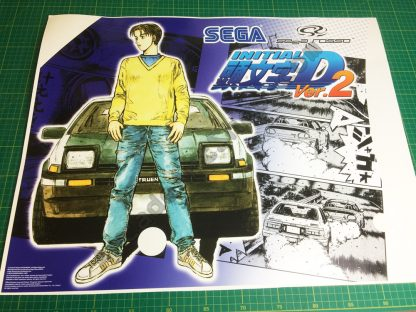 Initial-D 2 side art pair