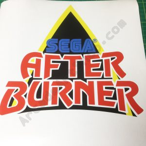 afterburner logo decal monitor bezel