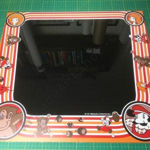 Donkey Kong perspex bezel
