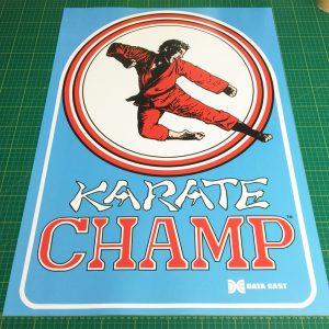 Karate Champ poster